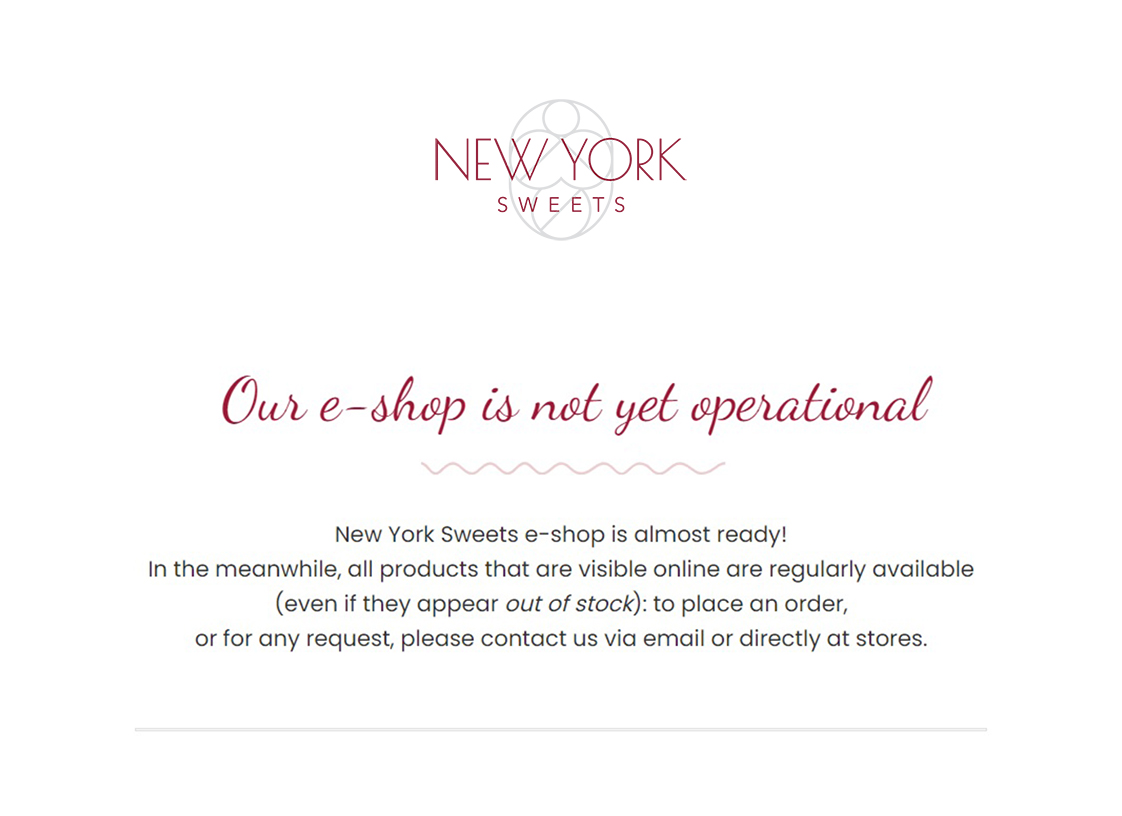 NYS e-shop is coming!